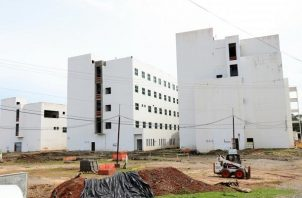 Este hospital cuyas instalaciones estaban ubicadas en Coco Solo, tiene cerca de 11 años de estar en construcción. Foto: Archivo