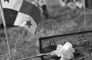 Lo menos que merecen los que cayeron en una invasión que no pidieron ni propiciaron, es que el Estado facilite su identificación y sepultura como merecen. Foto: Archivo.
