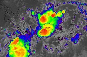 Los restos de la actividad de la onda tropical #22 se extenderán hasta el domingo. Foto: Cortesía Sinaproc