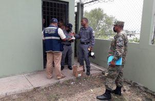 Realizan inspección a celda preventivas. Foto: Defensoría del Pueblo