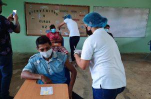 Panamá se aplicaron un total de 2,573,226 dosis de la vacuna contra la covid-19. Foto: Cortesía Minsa
