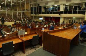 El Conep coordinará con la Asamblea sobre proyectos de ley.