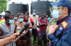 Más de 11 mil migrantes están varados en frontera colombo panameña. Foto: Cortesía Defensoría del Pueblo