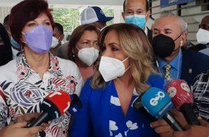 Diputados solicitaron a los magistrados la suspensión del reglón de capacitación al partido Cambio Democrático. Foto: Víctor Arosemena
