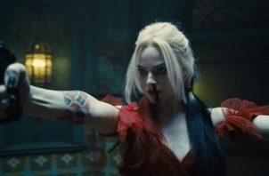 """Robbie durante una escena de la película """"The Suicide Squad"""". Foto: Cortesía Warner Bros. / DC Comics."""