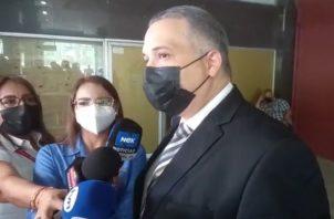 El abogado Alfredo Vallarino se refirió a lo que sucedió hoy en el juicio oral.