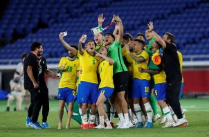 Brasil aseguró por segunda vez consecutiva su séptima medalla de oro. Foto: EFE