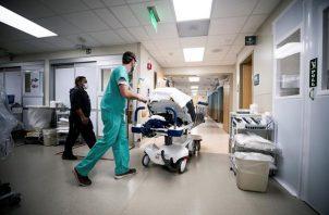 Estados Unidos contabiliza 1.450 niños hospitalizados por la covid-19. Foto: EFE