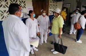 Ministra consejera realiza recorrido por Bocas del Toro. Foto: Minsa