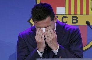 Leo Messi espera seguir en el Barcelona. Foto: EFE