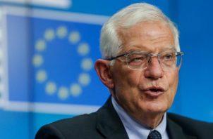 El Alto Representante de la Política Exterior de la Unión Europea (UE), Josep Borrell. Foto: EFE