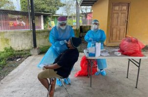 A nivel comunitario solo se ha detectado un caso en Panamá. Foto: Cortesía Minsa