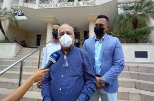 Luis Eduardo Camacho condenó la manipulación de justicia que hay en Panamá. Foto: Luis Ávila