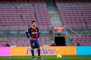 Messi anotó 672 goles en 778 partidos con el Barcelona. Foto: EFE