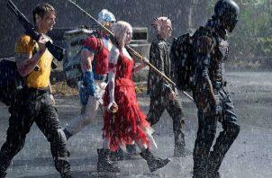 """Margot Robbie durante una escena de la película """"The Suicide Squad"""". Foto: EFE / Cortesía Warner Bros. / DC Comics"""