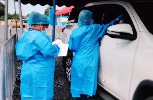 Ante este primer caso, se han iniciado toma de muestras de hisopado en la región. Foto: Thays Domínguez