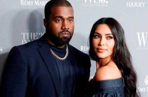 Kanye West y Kim Kardashian. Foto: Archivo / EFE