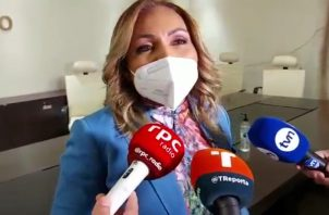 Yanibel Ábrego denunció el mal manejo financiero dentro del CD. Foto: Grupo Epasa