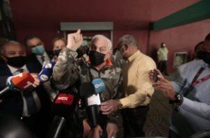 La defensa del expresidente Ricardo Martinelli han denunciado la presentación de prueba viciada por parte del Ministerio Público. Foto: Víctor Arosemena