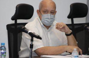 Adames durante su participación del Diálogo por la CSS. Foto: Asamblea