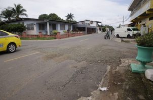 Las autoridades locales de cada corregimiento de este distrito han realizado paliativos en las calles. Foto: Cotesía