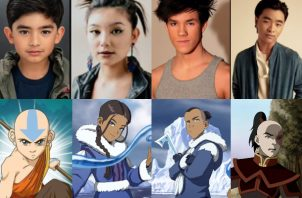 Gordon Cormier interpretará a Aang, Kiawentiio Tarbell a Katara, Ian Ousley a Sokka y Dallas Liu a Zuko. Fotos: Netflix / Internet