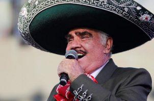 Vicente Fernández. Foto: EFE