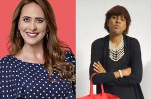 Ana Lucía Herrera y 'La Ministra'. Foto: Archivo / Instagram
