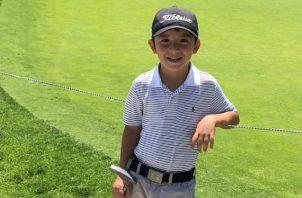 Mateo Ospina ocupó el séptimo puesto en el Mundial Juvenil de San Diego. Foto: Cortesía Wilson Ospina
