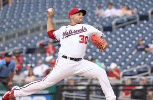 Paolo Espino firma una buena campaña en la MLB. Foto: Cortesía Paolo Espino
