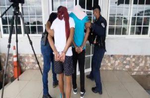 El segundo indiciado, está implicado en un caso de tentativa de homicidio, suscitado en el sector de La Polvareda en el distrito de Arraiján. Foto: Eric Montenegro