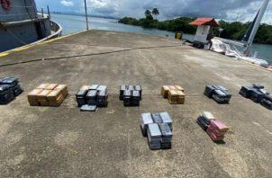 En este año, el Senan ha logrado hasta la fecha el decomiso de 45,611 paquetes de sustancias ilícitas, mediante la ejecución de 91 operaciones exitosas. Foto: Diomedes Sánchez