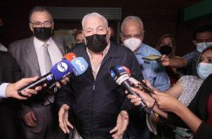 Juicio oral por el caso Pinchazo llega al día 18 con poco avances. Foto: Víctor Arosemena