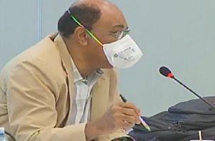 Guillermo Kennion, miembro de Comenenal, hizo la observación en la última reunión de la comisión. Archivo