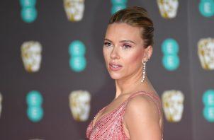La actriz Scarlett Johansson. EFE/EPA/NEIL HALL