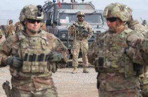 Soldados del Ejército de Estados Unidos en Afganistán. Foto: EFE