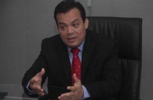 Juan Carlos Araúz, presidente del Colegio Nacional de Abogados. Foto: Archivo