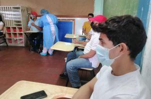 Alrededor del 30% de los panameños ha recibido las dos dosis de la vacuna contra la covid-19. Foto: Cortesía Minsa