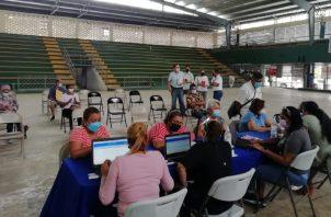 Con 'DGI en tu Comunidad', personal de la dirección se acerca a los contribuyentes, como el pasado sábado, en el Yuyín Luzcando. Cortesía