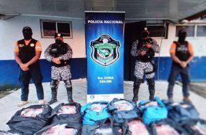 En el operativo Caribe 2 se ha incautado 9,553 paquetes de estupefacientes. Foto: Diómedes Sánchez