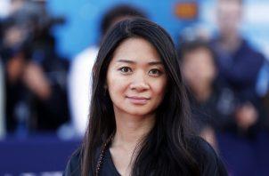 La directora Chloé Zhao. Foto: EPA / ETIENNE LAURENT/ Archivo