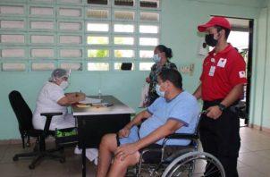 Según cifras de Panamá Solidario, en el distrito de Capira se han vacunado 28,159 personas con la primera o segunda dosis de Pfizer y AstraZeneca. Foto: Eric Montenegro