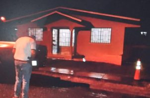Vivienda donde fue encontrado el cuerpo sin vida de Irving Esix Rodríguez Mata. Foto: Melquiades Vásquez