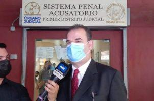 Carlos Carillo, abogado del expresidente Ricardo Martinelli. Foto: Víctor Arosemena