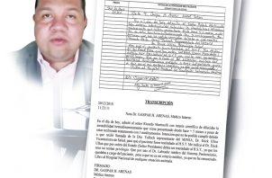 Informe del doctor que mandó la prueba al expresidente Martinelli, la noche que fue sacado en forma abrupta de un hospital privado. Infografía de Epasa
