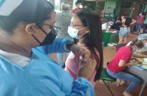 La situación en el hospital regional Nicolás A. Solano ubicado en La Chorrera, se encuentra en calma, al mantener hospitalizadas en las salas covid a 16 personas. Foto: Eric Montenegro