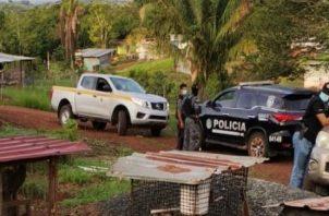 En el área del distrito de La Chorrera, provincia de Panamá Oeste se llevaron a cabo varias diligencias de allanamiento con el fin de dar con personas requeridas por las autoridades por diversos delitos. Foto: Cortesía PGN