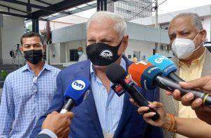 Expresidente Ricardo Martinelli. Foto: Víctor Arosemena