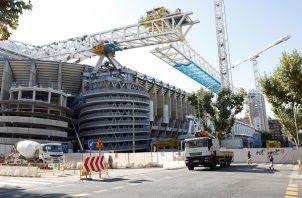 El Real Madrid no disputa un partido en el Santiago Bernabéu desde el 1 de marzo del 2020. Foto: EFE