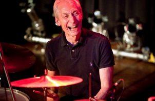 El baterista de The Rolling Stones, Charlie Watts, en 2010. Foto: EFE / Ennio Leanza / Archivo
